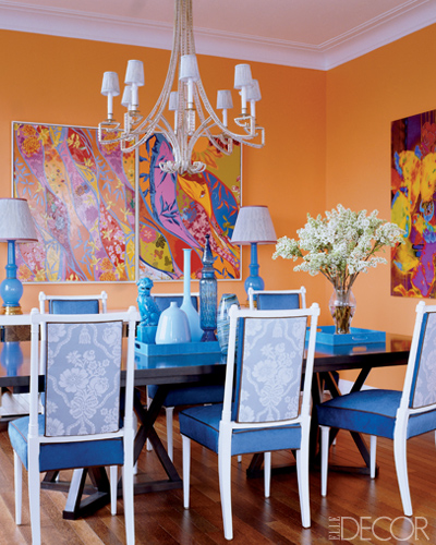 Pumpkin inspired decor that s the colour not the veg for Dining room ideas orange