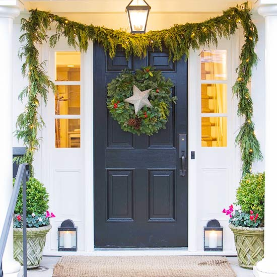 Fabulous Festive Front Doors A Passion For Homes