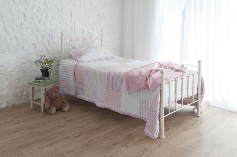a beautiful wrought iron bed for life made with love and On iron beds for girls