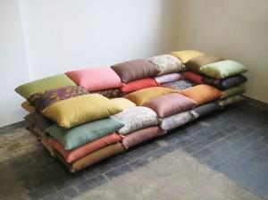 cushionised sofa