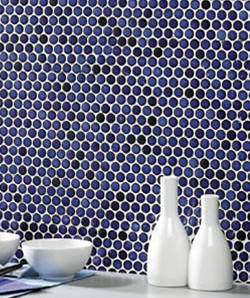 topps tiles honeycomb mosaics