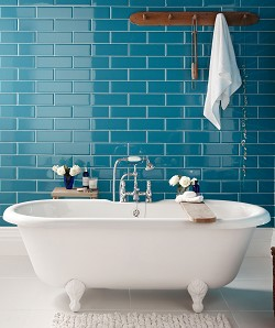 October how to tiling a bathroom wall for Topps tiles bathroom ideas