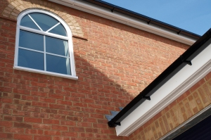 Anglian Home Improvements arch window on A Passion for Homes