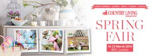 Country Living Spring Fair ticket prize on A Passion for Homes