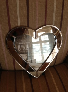 Next Heart photo frame A Passion for Homes birthday prize