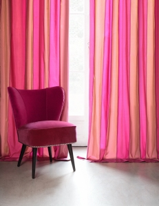 Fabric by Dedar on A Passion for Homes blog