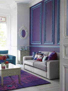 Debenhams purple interior design A Passion for Homes