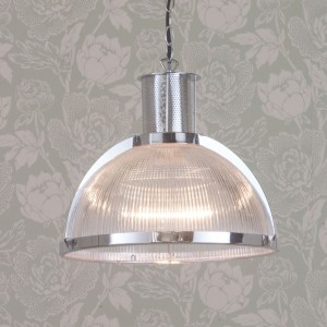 jacob 1 restoration ceiling light chrome on A Passion for Homes