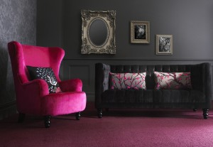 very fearne cotton pink chair on A Passion for Homes