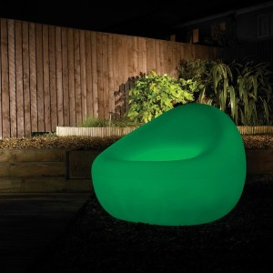 xantian green tub chair on A Passion for Homes