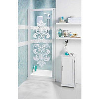 haze pivot recess shower enclosure and tray