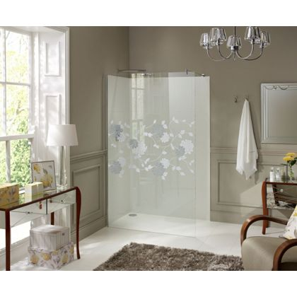 laura ashley wetroom panel isodore glass