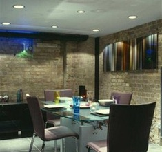 textured walls and lighting design in dining room a passion for homes blog susan quirke