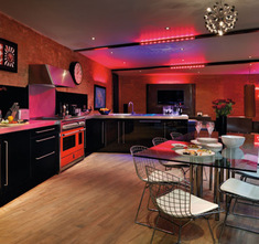lighting design on a passion for homes blog susan quirke kitchen diner