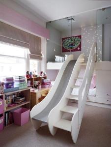 indoor slides on a passion for homes blog children's room