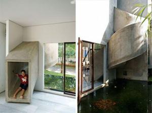 indoor slides on a passion for homes blog outside inside