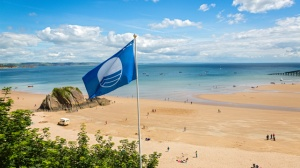 North Tenby beach in Pembrokeshire on a passion for homes blog