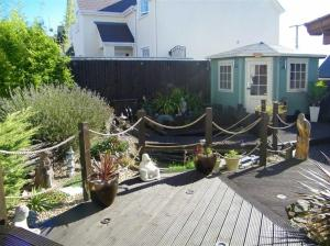 Conway House on a passion for homes blog rear garden decking