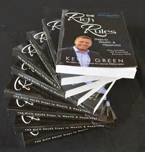 The Rich Rules book by Kevin Green on a passion for homes blog