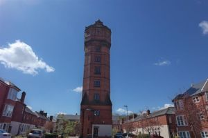 leek water tower on a passion for homes blog